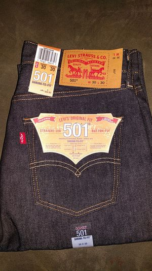 Levi's 501 Shrink-To-Fit Black 30 x 30 for Sale in Falls Church, VA