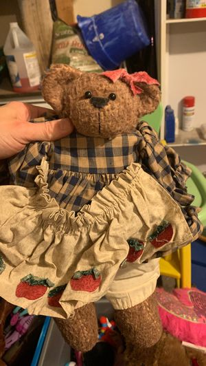 Antique vintage stuffed handmade animals for Sale in Arlington, TX