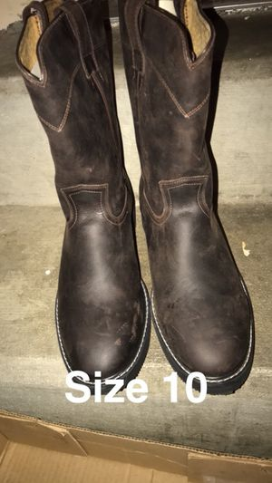 Cuevas work boots size 10 for Sale in Tooele, UT