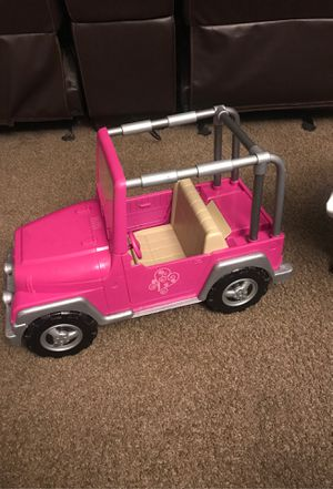 """Jeep for 18"""" doll for Sale in Phoenix, AZ"""
