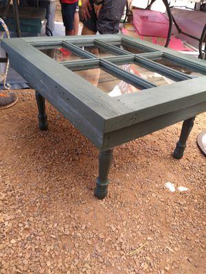Antique Shadow Box Window Table for Sale in Phoenix, AZ