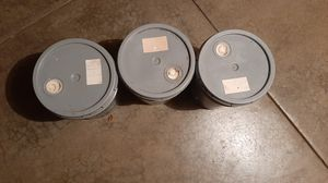 3 buckets of ivory tower paint for Sale in Woodstock, IL