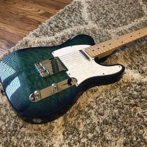 Indio Retro DLX Quilted Maple Top Telecaster Electric Guitar for Sale in St. Charles, IL