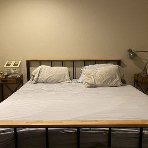 King Bed Frame for Sale in Lake Worth, FL