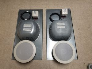 OWI AMP-IC5/6 Ceiling Mount Speakers w/ enclosures and XFMRs for Sale in Pittsburgh, PA