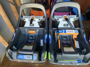 Fit2 car seat bases (2) for Sale in Raleigh, NC