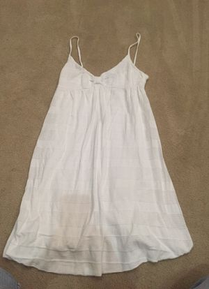 H&M white Cami long top or short sundress. Size 8, but looks like a small for Sale in Herndon, VA