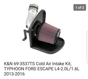 FORD ESCAPE COLD AIR INTAKE KIT for Sale in Burgettstown, PA