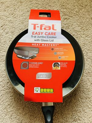 T-Fal Easy Care 5 Quart Non-Stick Jumbo Cooker for Sale in Cranberry Township, PA