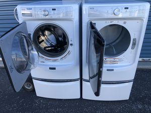 Maytag front load washer and dryer for Sale in Bingham Canyon, UT