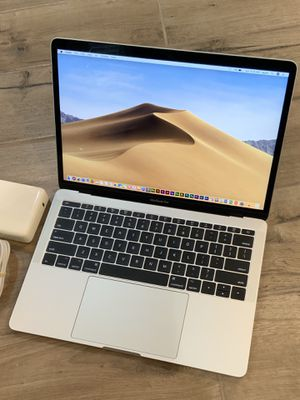2017 MacBook Pro 13 inch Retina 256GB with Apple Care Plus September 2020 and $700 in paid software for Sale in Rosemead, CA