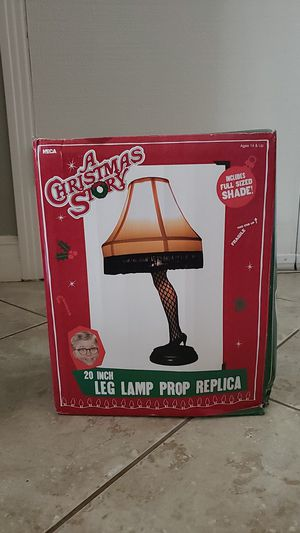 A Christmas Story Leg Lamp for Sale in Montclair, CA