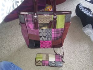 Authentic Purse n Wristlet for Sale in Colorado Springs, CO