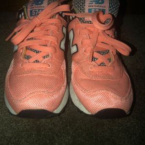 Melon colored Girls New Balance for Sale in PA, US