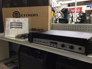 CROWN AMPLIFIER CDI 4000 POWER AMPLIFIER BY HARMON INTERNATIONAL for Sale in Bonney Lake, WA