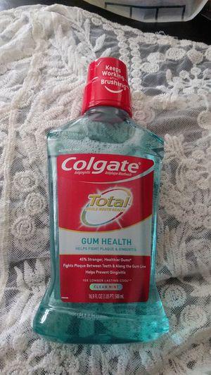 Colgate mouthwash gum health for Sale in San Diego, CA