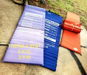 Therm a rest air mattresses & slumberjack sleeping bags for Sale in Hurst, TX
