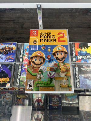 Super Mario maker 2 $45 Gamehogs 11am-7pm for Sale in Monterey Park, CA