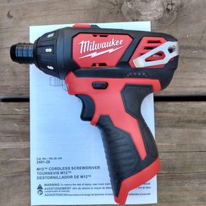 New M12 Cordless 1/4 Inc Hex Screwdriver ( Tool Only) for Sale in Oklahoma City, OK