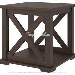 NEW, WEATHERED OAK COLOR END TABLE, SKU#TC283. for Sale in Huntington Beach,  CA