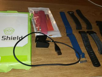Fitbit Charger 2 Bands And Charger And Clear Screen Protector for Sale in Clearlake,  CA