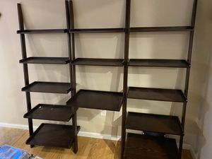 3 piece shelf about 5 1/2 to 6ft tall. for Sale in Hammonton, NJ