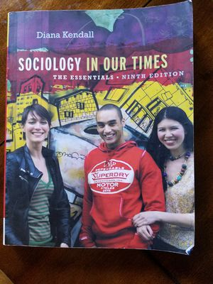 Sociology in our times the essential ninth edition for Sale in Vista, CA