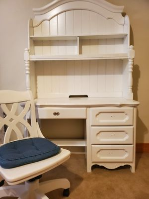 Pottery barn desk, bookshelves and rolling chair for Sale in Denver, CO