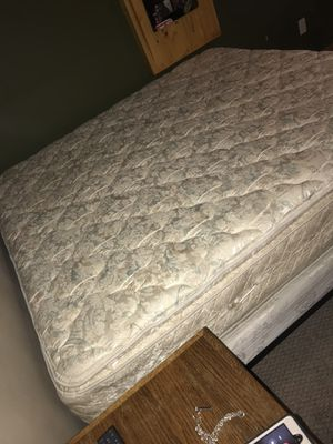 King Size Mattress, Box spring and frame for Sale in Ramsey, MN