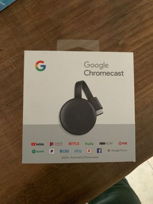 Brand New Chromecast for Sale in Reading, MA