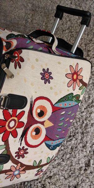 Duffle bag owl design for Sale in Henderson, NV