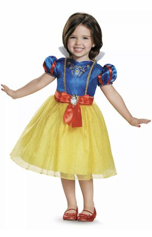 Disney Princess Snow White Halloween Toddler Dress Up Play Time Costume 2T for Sale in Fairfield, CA