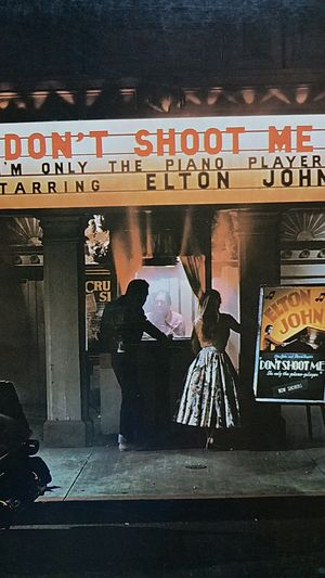 Elton John - Don't shoot me I'm only the piano player LP for Sale in Woodbine, MD