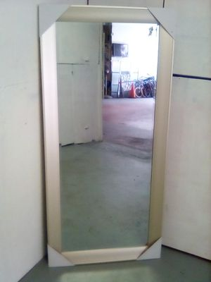 Sale mirror color gold hanging floor 66x32 for Sale in Los Angeles, CA