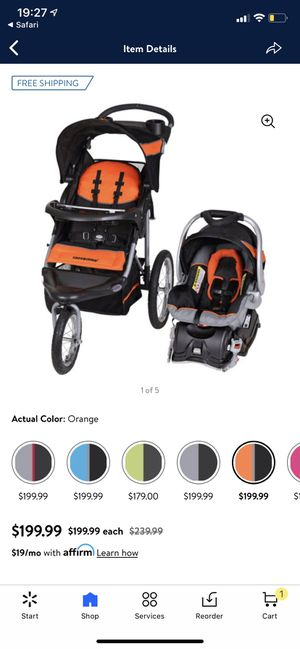 Baby Trend car seat, stroller for Sale in Tacoma, WA