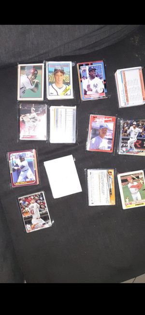 1000 plus baseball card lot with hits for Sale in Norwalk, CA