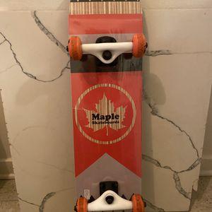 Maple Skateboard Complete for Sale in Seattle, WA