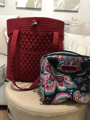 Vera Bradley large tote and lunch bag for Sale in Dupo, IL