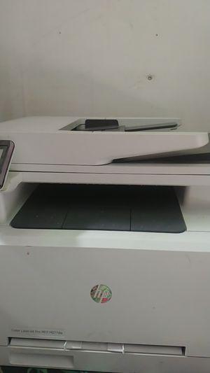 HP color LaserJet Pro printer mfp m277DW for Sale in West Valley City, UT