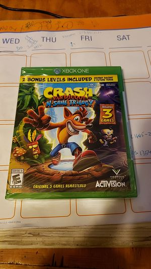 Brand New Crash Bandicoot Xbox One for Sale in Los Angeles, CA