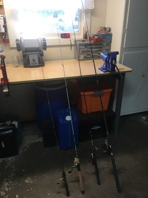 Fishing rods and reels for Sale in Stockton, CA