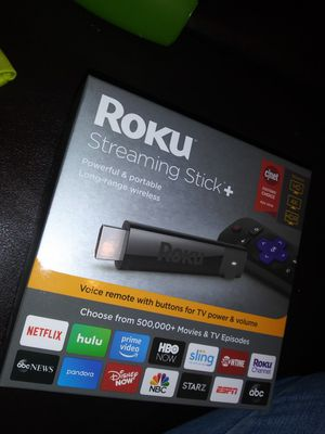ROKU STREAMING STICK PLUS + for Sale in Dallas, TX