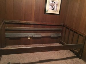 Wooden daybed frame for Sale in Richlands, NC