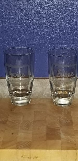 6 I heart Montana 16oz drinking glasses for Sale in Belgrade, MT