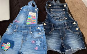Little Girls overalls/bibs💜💜 for Sale in Greenwood, IN