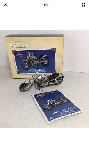 2002 Hallmark Harley Davidson ornament. for Sale in Needham, MA