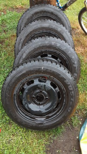 Set of rims tires for Sale in Tacoma, WA