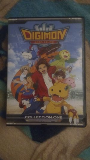Digimon Data Squad DVD Box Set Collection part One for Sale in Tucson, AZ
