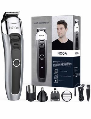 Small Adjustable Beard Trimmer for Men, Rechargeable Cordless Mens Beard Trimmer, Hair Clipper, Ear and Nose Trimmer, Detail Trimmer for Sale in Quitman, TX