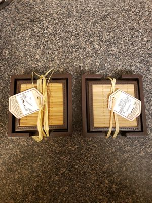 Bamboo Coasters Set of 6 Brand New for Sale in Union City, CA